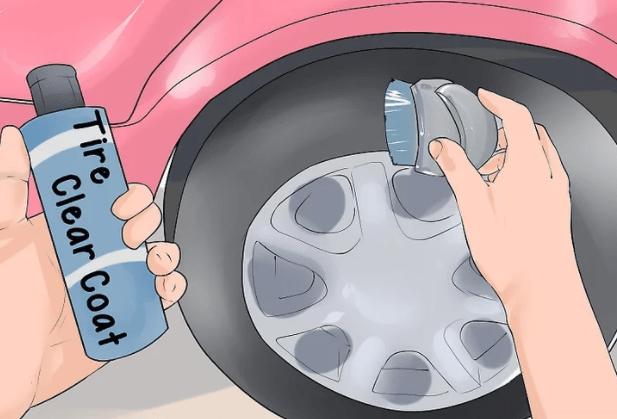 تمیز کردن لاستیک خودرو