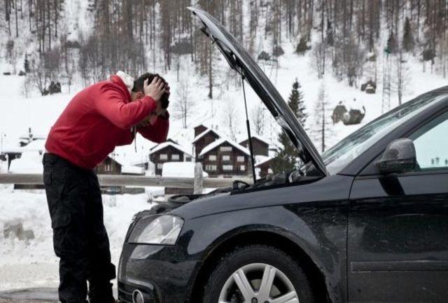 مشکلات خودرو