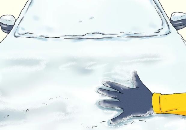از بین بردن یخ زدگی خودرو